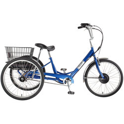 Sun Bicycles E350 Adult E-Trike Blue