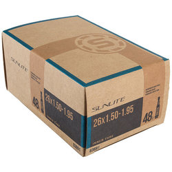 Sunlite Standard Presta Valve Tube 26 x 1.5-1.95