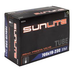 Sunlite Standard Presta Valve Tube 700 x 19-23 (27 x 1)