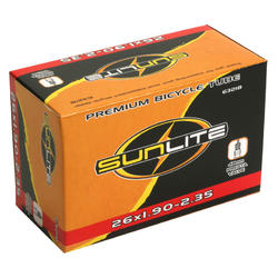 Sunlite Standard Presta Valve (48mm) Tube 26 x 1.9-2.35