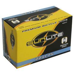 Sunlite Standard Schrader Valve Tube 22 x 1.75