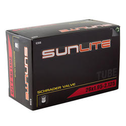 Sunlite Standard Schrader Valve Tube 26 x 1.95-2.125