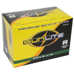 Sunlite Standard Schrader Valve Tube 20 x 4 1/4