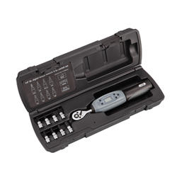 Super B 1/4-inch Digital Torque Wrench And Bit Set