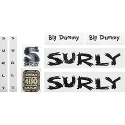 Surly Big Dummy Frame Decal Set