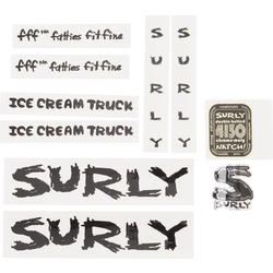 Surly Ice Cream Truck Frame Decal Set