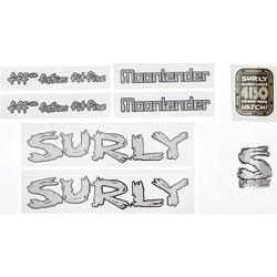 Surly Moonlander Frame Decal Set