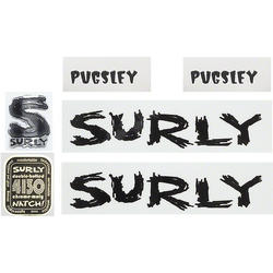 Surly Pugsley Decal Set