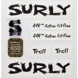 Surly Troll Decal Set