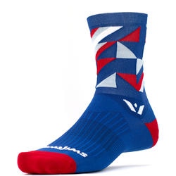 Swiftwick Vision Five Geo - Crew Socks