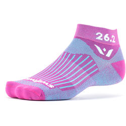 Swiftwick Vision One Pink Race Series Ankle Socks