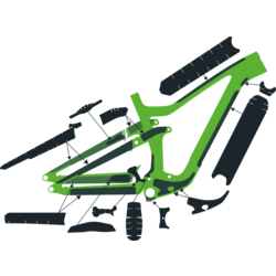 Syncros Ransom Carbon Frame Protection Kit