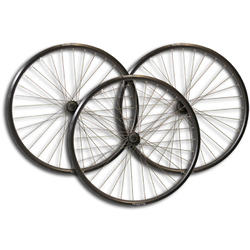 TerraTrike 24-inch Wheelset - Double Wall - Black