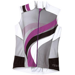 Terry Echelon Sleeveless Jersey - Women's