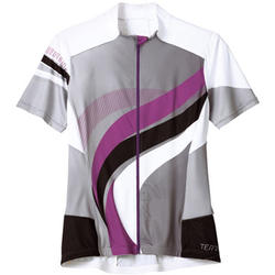 Terry Echelon Short Sleeve Jersey - Women's