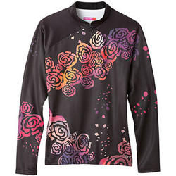 Terry Mandarin Thermal Long Sleeve Jersey