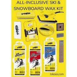Toko All-Inclusive Ski and Snowboard Wax Kit