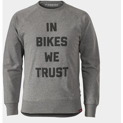 Trek In Bikes We Trust Crewneck Sweatshirt