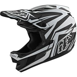 Troy Lee Designs D4 Carbon Helmet w/ MIPS Slash