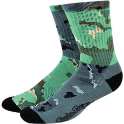 Troy Lee Designs Mixed Camo Crew Sock