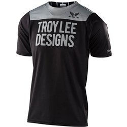 Troy Lee Designs Skyline Short Sleeve Jersey Pinstripe Block
