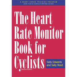 VeloPress Heart Rate Monitor Book for Cyclists
