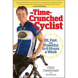 VeloPress The Time-Crunched Cyclist