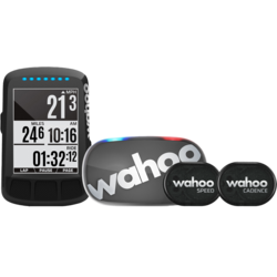 Wahoo ELEMNT BOLT - Stealth Edition - Bike Computer Bundle