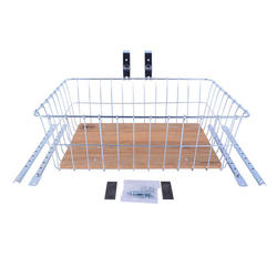 Wald 1392WW (Zinc) Woody Front Basket