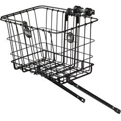 Wald 3339 Multi-Fit Front Basket & Rack Combo