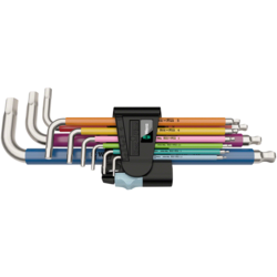 Wera 3950/9 Hex-Plus L-Key Hex Wrench Set