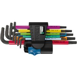 Wera 967/9 TX HF L-Key Torx Wrench Set
