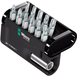 Wera Bit-Check 12 Metal Bit 1 Bit Holder & Bit Set
