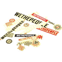 WeThePeople Assorted Stickers 15-pack