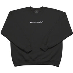 WeThePeople WTP Embroidery Crew Neck
