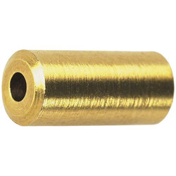 Wheels Manufacturing Inc. Brass Cable Housing Ferrules: Bottle of 50