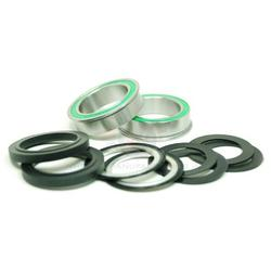 Wheels Manufacturing Inc. Flanged, Dual Row Pressfit 86/92 Ceramic Bottom Bracket (BB86 To 30mm)