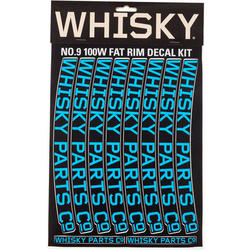 Whisky Parts Co. 100w Rim Decal Kit