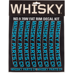 Whisky Parts Co. 70w Rim Decal Kit