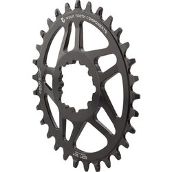 Wolf Tooth Components Elliptical SRAM BB30 Short Spindle 3-Bolt Direct Mount Chainrings