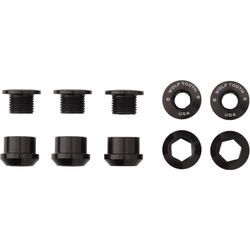 Wolf Tooth Components Set of 5 Chainring Bolts+Nuts For 1x