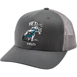 Yeti Cycles Sliding Yetiman Trucker Hat Snapback