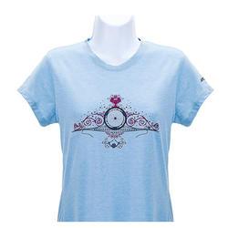 Zipp Scroll T-Shirt - Women's