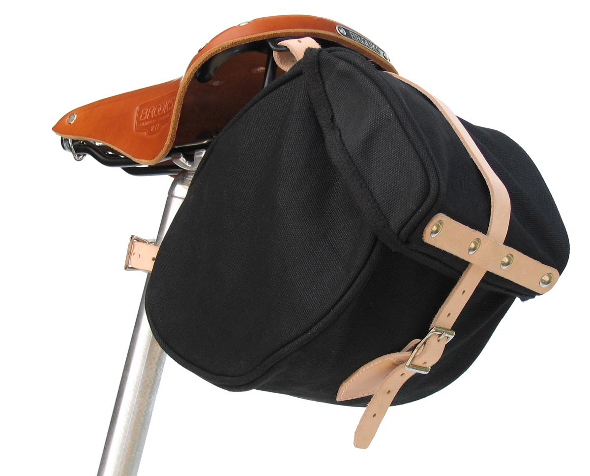 Banjo Brothers Minnehaha Canvas Saddle Bag (Small)