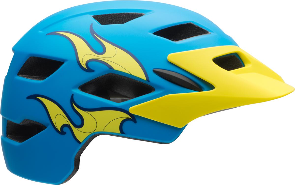 Kids Bicycle Cycling Crash Bike Childs 47-54cm Bell Sidetrack Helmet Child