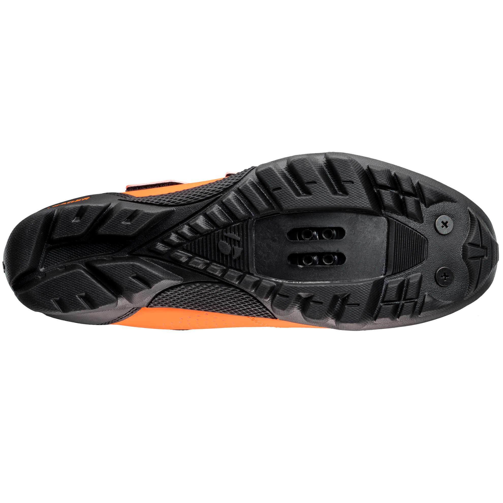 Bontrager Evoke Mountain Shoe Black//Slate 44