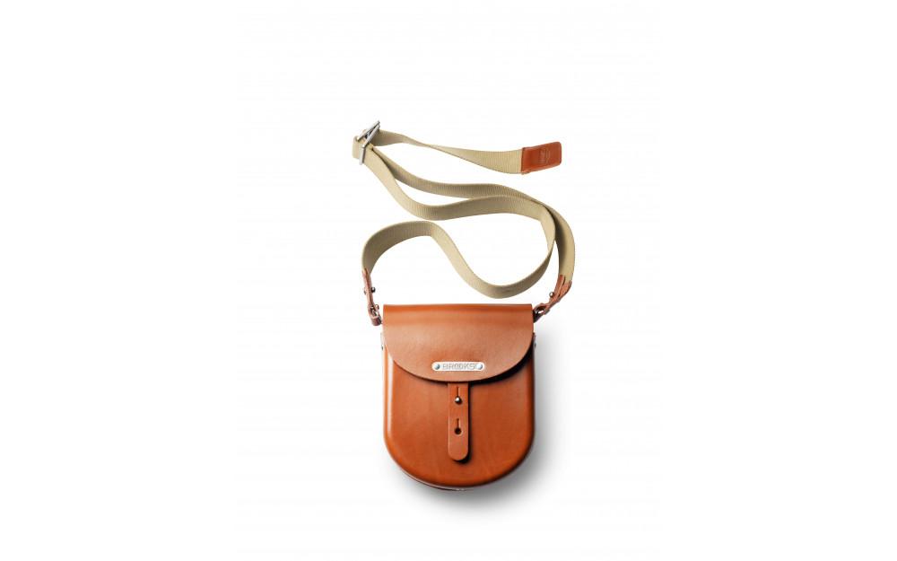 HONEY MOULDED SADDLE BAG BROOKS B100  A07203 B100 A07203 Honey B1 SMALL BAG