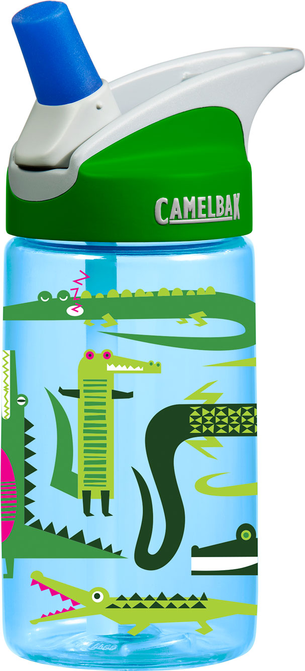 NEW CamelBak eddy Kids .4L Water Bottle ROBOTS