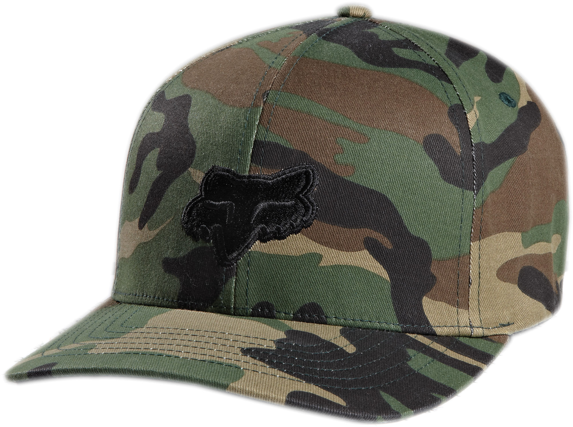 Fox Racing Cap Hat Legacy Flexfit Hat Dark Brown L//XL 58225-229