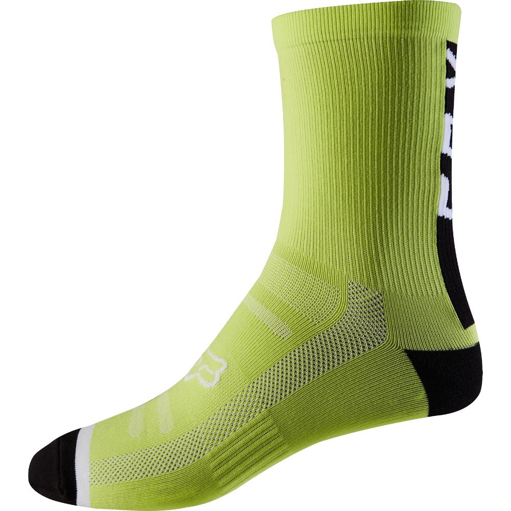 "MTB Mountain Bike Biking Cycling 8 Inch Socks Fox 8/"" Trail Sock"